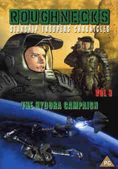 ROUGHNECKS 3-STARSHIP TROOPERS (DVD)