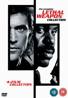 LETHAL WEAPON 1-4 BOX SET (DVD)