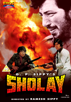 SHOLAY (BURNING FLAMES) (DVD)