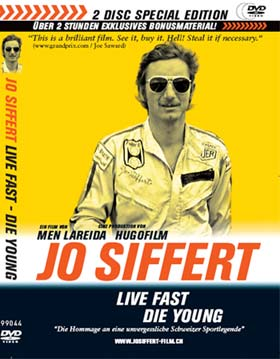 JO SIFFERT - LIVE FAST DIE YOUNG - 2 DISC SPECIAL (DVD) - Men Lareida