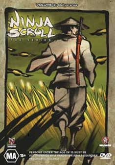 NINJA SCROLL-THE SERIES 3 (DVD)