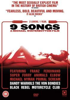 9 SONGS (DVD)