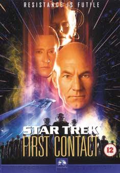 STAR TREK 8 FIRST CONTACT (DVD)