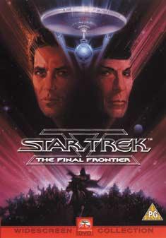 STAR TREK 5 THE FINAL FRONTIER (DVD)