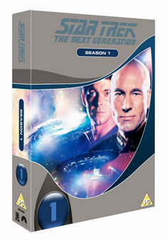 STAR TREK NEXT GENERATION SERIES 1 (DVD)