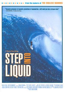 STEP INTO LIQUID              (DVD)