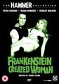 FRANKENSTEIN CREATED WOMAN  (DVD)