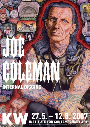 Joe Coleman - Internal Digging - Plakat