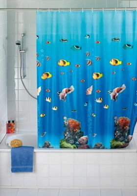 Duschvorhang - Ozean Meer Fische