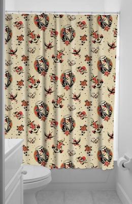 Duschvorhang lost love klang und kleid interior for Coole duschvorha nge