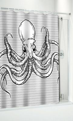 Duschvorhang - Oktopus
