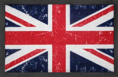 union jack fussmatte t rvorleger grossbritannien. Black Bedroom Furniture Sets. Home Design Ideas