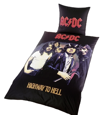 AC/DC Bettwäsche Highway to Hell