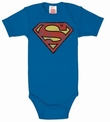 Babybody - Superman - Blau Shirt