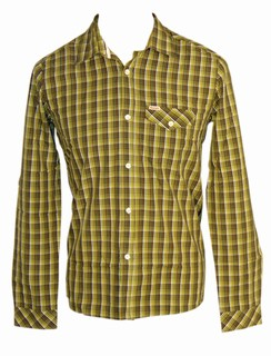 RICK LS Green Hemd