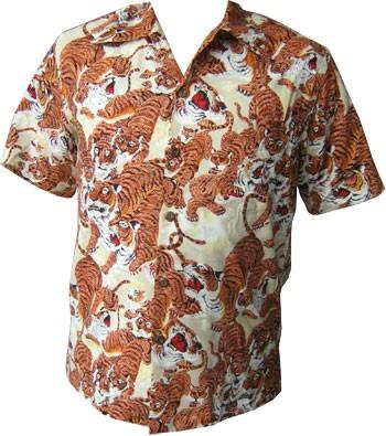 KALAKAUA - ORIGINAL HAWAIIHEMD - 1000 TIGERS
