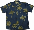 Original Hawaiihemd - Coconut Tree - Navy - Paradise Found Modell: CoTrnavy
