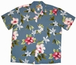 Original Hawaiihemd - Hibiscus Summer - Blau - Paradise Found