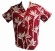 Original Hawaiihemd - Pareau Paradise - rot - Paradise Found Modell: PARPARrot