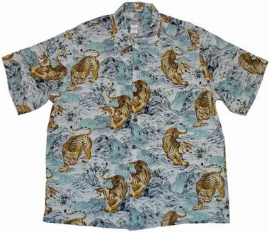 Original Hawaiihemd - Kam Tiger - Kamehameha