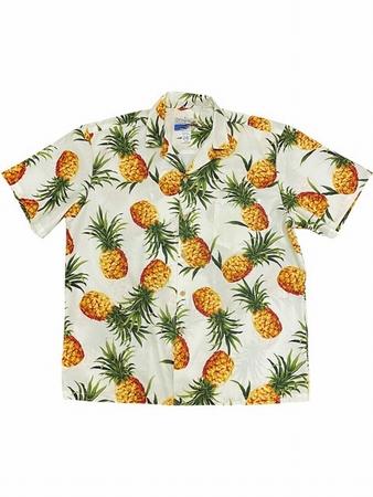 Original Hawaiihemd - Tropical Gold Cream - Waimea Casual