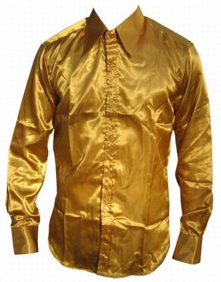 Retro Hemd - gold Limited Edition