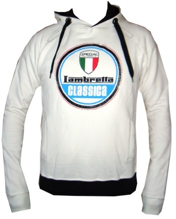 Lambretta Kapuzenpullover - Creme