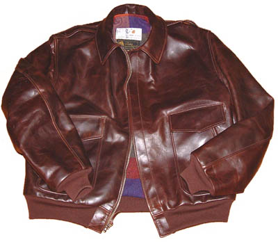 Flight Jacket 1950s - Heavy Front Quarter Horsehide