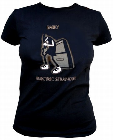 Emily the Strange - ELECTRIC STRANGer shirt