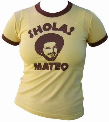 VintageVantage - Hola! mateo  Girlie shirt
