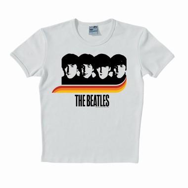 Logoshirt - The Beatles - Rainbow - Shirt