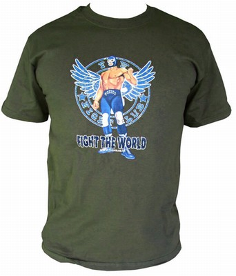 Fight the World - Olive Shirt