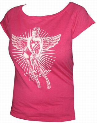 Toxico Shirt - Pin Up Angel Pink - Girls