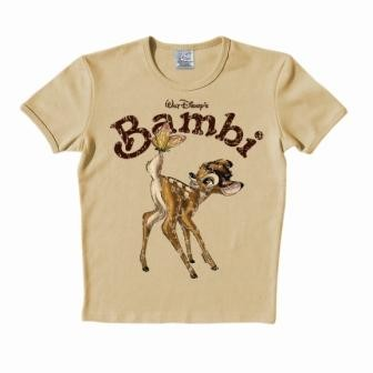 Logoshirt - Bambi Shirt  - Ochre Sand