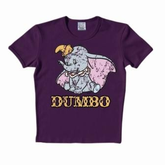 Logoshirt - Dumbo Shirt - Purple