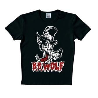Logoshirt - B.B. Wolf Shirt - Black