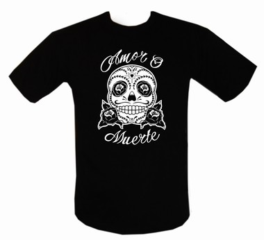 Amor o Muerte - Shirt  - schwarz