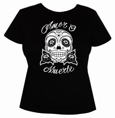 Amor o Muerte - Girls Shirt  - schwarz