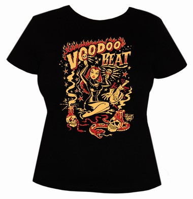 Voodoo Beat - Girl Shirt - schwarz