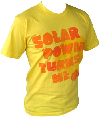 VintageVantage - Solar Power Shirt