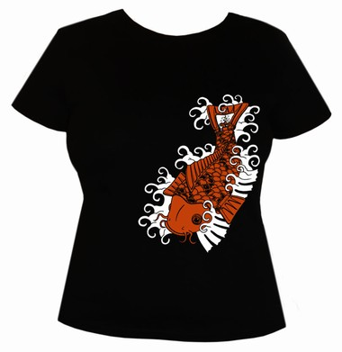 Koi Toi  - Girl Shirt