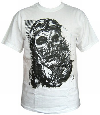 Kamikaze - White - Men Shirt