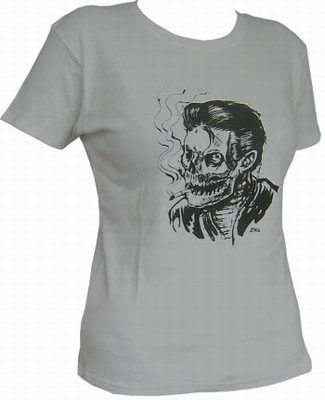 Smoke Kills - Grey - Girl Shirt