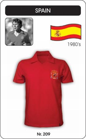 Spanien Retro Trikot Kurzarm