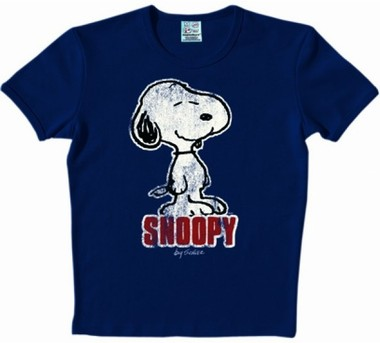 Logoshirt - Snoopy Shirt - Blue