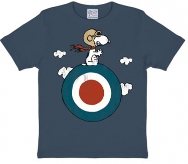 Kids Shirt - Peanuts - Snoopy Target - Vintage