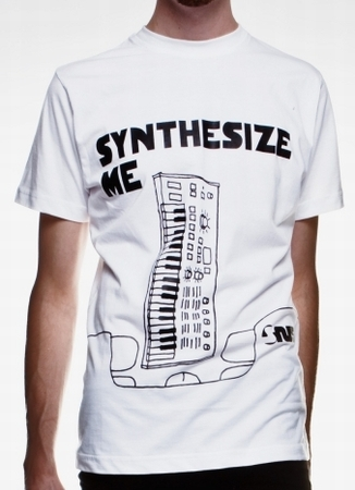 Synthesize Me - Shirt - weiss