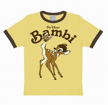 Kids-Shirt - Bambi Disney - Cornfield Yellow