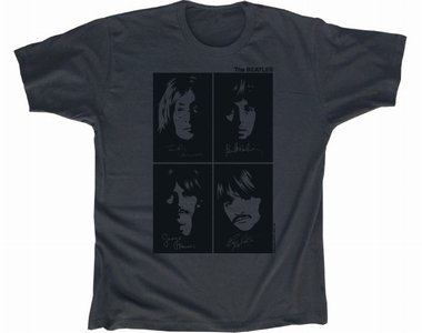 Beatles Men Shirt - Autograph