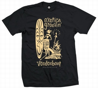 Exotica Groovin Hula - Men Shirt - schwarz